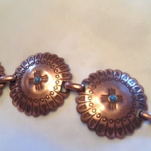 Jewelry - Copper turquoise bracelet