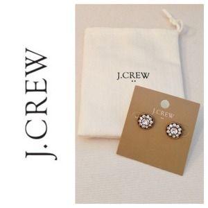 J. Crew Jewelry - 💢SOLD💢 J.Crew Factory Crystal Stud Earrings
