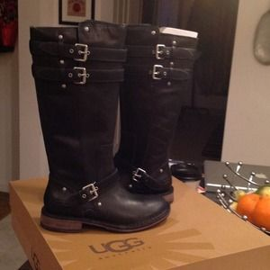 Authentic ugg leather boots.