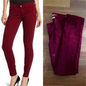 BUNDLE 💕Lucky Brand red corduroy skinnies
