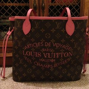 LV Rose IKAT MM. LIMITED EDITION