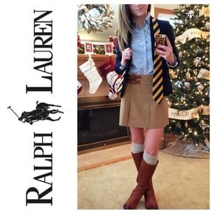 Ralph Lauren Dresses & Skirts - Ralph Lauren Blue Label Pleated Mini Skirt