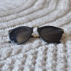 Ella shades (matte black/nickel)