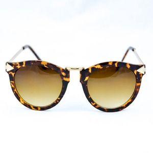 Ella shades (tortoise/gold)
