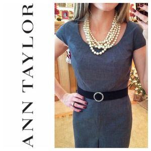 Ann Taylor Dresses & Skirts - 💢SOLD💢 Ann Taylor Woven Sheath Dress