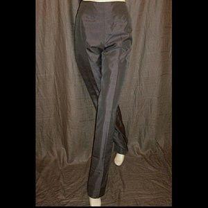 Brioni Pants - Brioni Gray Silk Shantung Pants/Slacks 50IT 16/18