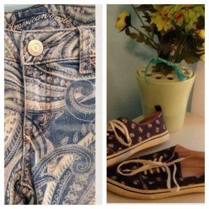 Denim - Jeans and shoes bundle