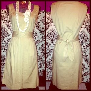 Beige Tory Burch dress