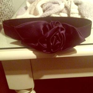 cara Accessories - Cara waist purple belt from nordstrom with flower