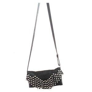 Clutches & Wallets - Black studded bag