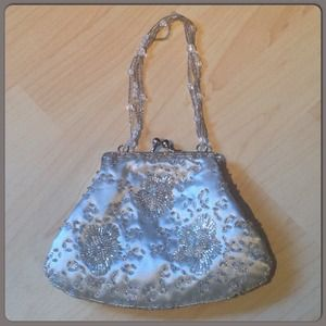 Handbags - Fun & cute mini pouch with beaded detail