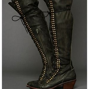 Jeffrey Campbell Free People Joe Stud boots