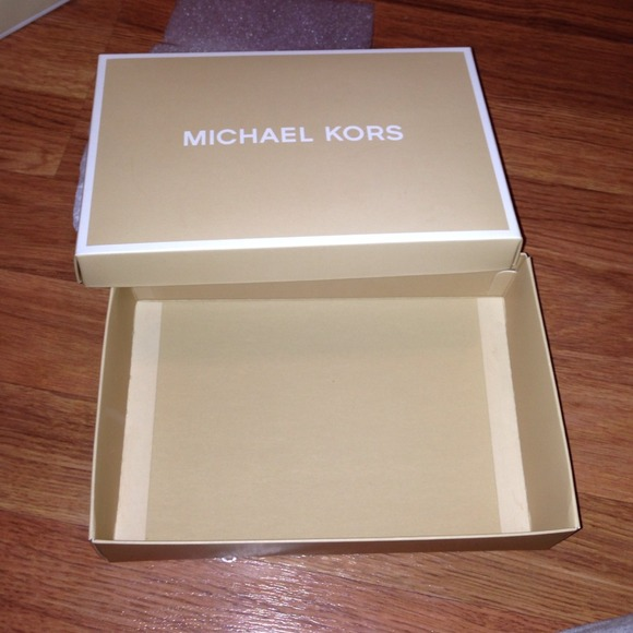 Michaels Brown Favor Boxes : Off michael kors other authentic gift