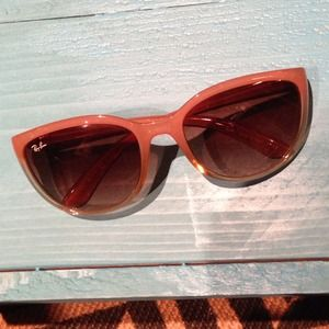 Ray-Ban Accessories - Ray-Ban pink ombré cat eye sunglasses