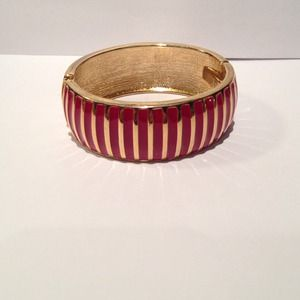 unknown  Jewelry - Pink enamel bangle