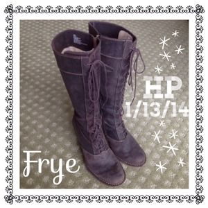 Frye Boots - 🎉HP 1/13/14🎉 Frye Villager Suede Leather Boots