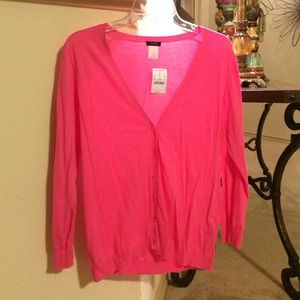 J. Crew Sweaters - J. Crew Pink Lightweight Sweater
