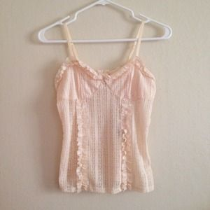 Tops - Knit Lace Cami