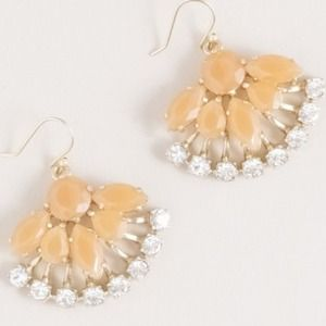 J.Crew Fan Earrings