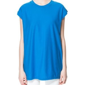 Zara basic cotton tee