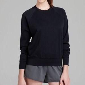 Theory Black Sweatshirt