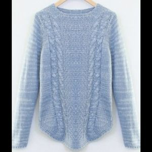 ❗️SALE❗️Cable Knitted Sweater