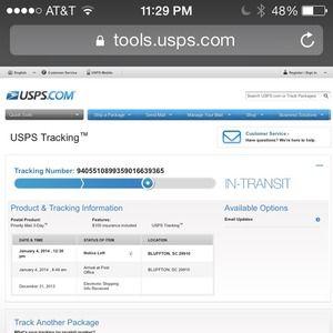 Denim - Tracking info