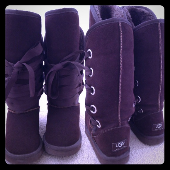 1d9d9dbf1f4 ❄️✨Ugg Classic Tall Lace Up Front Roxy Boots✨❄️