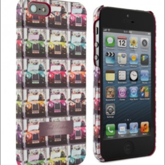 various colors 866e7 ae30a Ted Baker London iPhone 5 Cell Phone Case