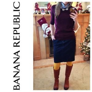 Banana Republic Dresses & Skirts - Banana Republic Stretch Denim Skirt