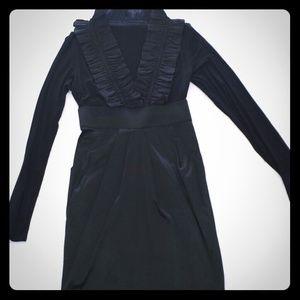 Black long sleeve dress.