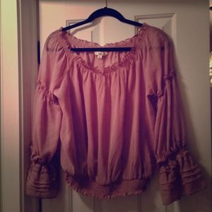 Ya Los Angeles sheer blouse