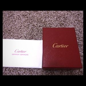 Cartier Love 1P diamond ring
