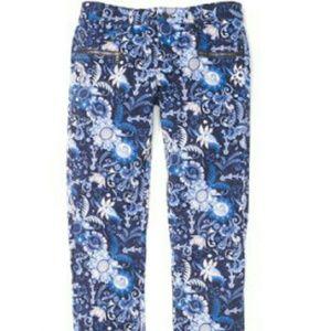 Club Monaco paisley jeans