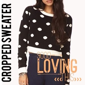 ⭐️NEW⭐️Polka Dot Sweater