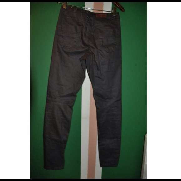 Slim Homme H&m H&m Waxed Slim Fit Pants