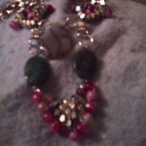Pam Hiran stone necklace