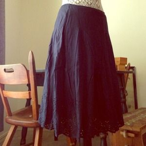 Dresses & Skirts - Navy blue skirt-sold on vinted