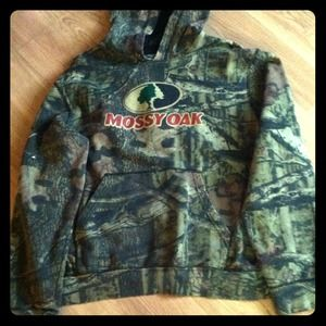 Mossy Oak hooded sweatshirt