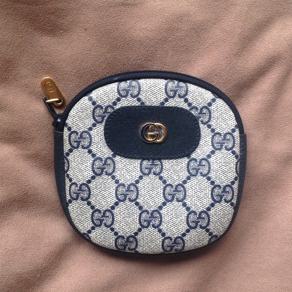 c670aaa6060b93 Gucci Clutches & Wallets - Authentic vintage gucci blue coin purse, wallet