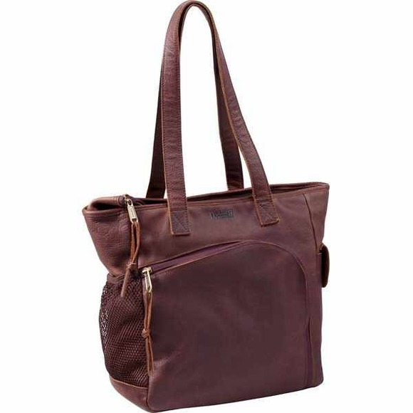 5bd9bf5ee27ce2 Duluth Trading Bags | Womens Lifetime Leather Travel Tote | Poshmark