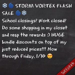 ❄️🌀 STORM FLASH SALE ❄️🌀