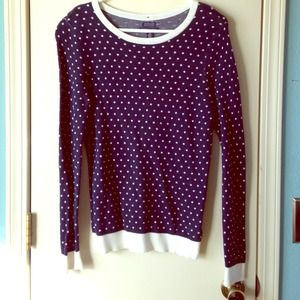 Tommy Hilfiger Factory polka dot sweater.