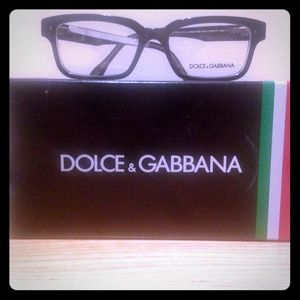 Dolce & Gabbana Black Acetate Glasses