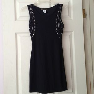 Sexy Studded Body-con Dress! Brand new!