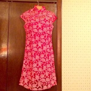 🎉Reduced price! Beautiful Asian Red Dress NWT 🎉