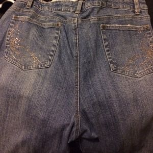 Denim - Cute gold bling jeans