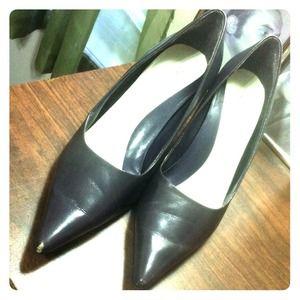 Nine West Shoes - Nine West Dark Purple Heels