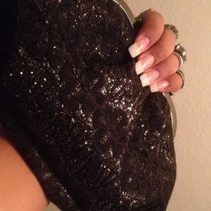 Clutches & Wallets - knuckle Clutch Purse 🔴🚫NO TRADES🚫🔴 PRICE FIRM
