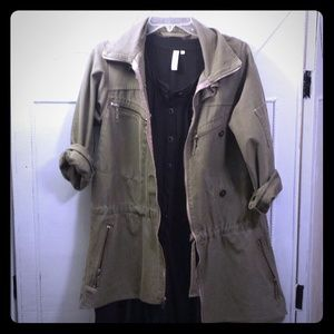 Vintage reconstructed army jacket